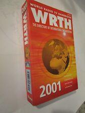 World Radio TV Handbook WRTH 2001 volume 55