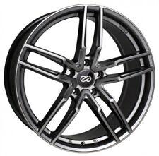 17x7.5 Enkei Rims SS05 5x114.3 +40 Hyper Gray Rims Fits Civic Rsx Tsx Prelude