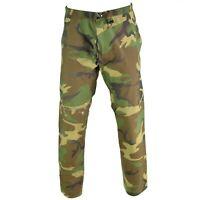 Genuine US Military GI Gore-Tex® Pants Woodland Camo waterproof army trousers