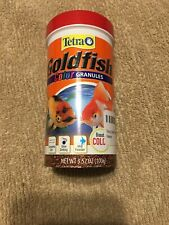 Tetra Goldfish Color Granules 3.52 Oz Ounce 100g Active Life Formula Boosts Colo