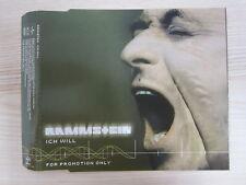 CD /   Rammstein – Ich Will  / PROMO / TOP RARITÄT /