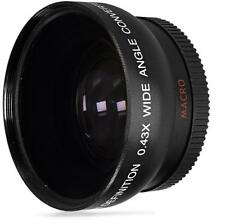 Vivitar 4358w 0.43x 58mm Wide Angle Lens.