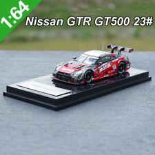 1:64 Scale Nissan Gtr Gt500 23# Racing Model Car Diecast Model Toy for Boy&Girl