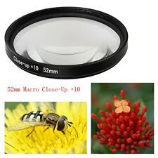 For GoPro HERO5 Sport Action Camera 52mm 10X Macro Lens Close-up Filter