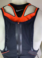 Nike Trail Running Kiger Vest Black Orange Hydration Vest Unisex Multi Size