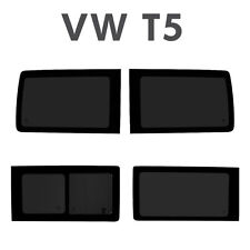 VW T5 Transporter FULL SET OF WINDOWS FOR T5 SWB WITH FITTING KITS