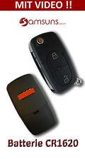 2 Clés ROND Clapet Voiture boîtier clé pas. pour S3 A3 A4 A5 A6 A8 Q3 Q5 Q7 TT
