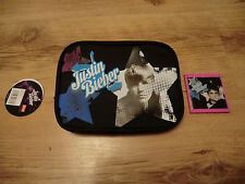 JUSTIN BIEBER BAG AND COMPACT MIRROR NEW