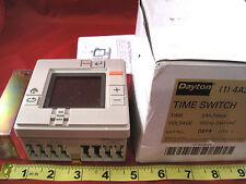 Dayton 4A342A Time Switch 24h 7 days 100-240vac 15a Electronic Timer Nib New