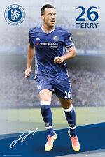 JOHN TERRY Chelsea FC SIGNATURE SERIES Football Soccer Action POSTER