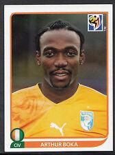 Panini Football Sticker - 2010 World Cup - No 529 - Ivory Coast - Arthur Boka