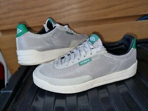 Umbro Grey Mesh Pump Low Sports Trainers Casual terraces UK 8 FREE POSTAGE