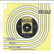 MAUREEN EVANS UK 7''  I LOVE HOW YOU LOVE ME  IN  N /EX CON