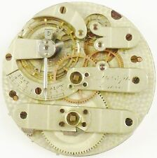 C. Droz & Fils Pocket Watch Movement - High Grade - Spare Parts / Repair!