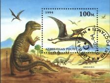 Aserbaidschan Block7 (kompl.Ausg.) gestempelt 1994 Prähistorische Tiere