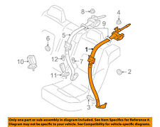 VOLVO OEM 07-12 S80 Rear Seat Belt-Outer Assy Right 39808358