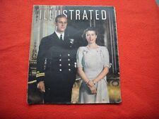 ORIGINAL MAGAZINE ILLUSTRATED 22/11/47, PRELUDE TO WEDDING OF PRINCESS ELIZABETH