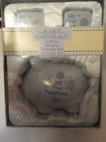 "TOOTH etc 1 ~~ONE BABY GIRL OR BOY /""MY FIRST PIGGY BANK GIFT SET/""!"