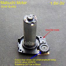 DC 1.5V 3V 160RPM Good Quality Mabuchi Motor Gearbox Reduction Gear Robot DIY