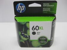 HP 60XL Black Ink Cartridge CC641WN Genuine New CC641W MINT BOX Date: 2020