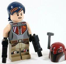 LEGO STAR WARS MANDALORIAN SABINE WREN MINIFIGURE 75106 REBELS RARE - GENUINE