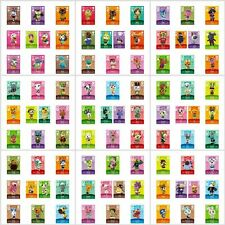 More details for animal crossing amiibo series 3 cards all cards 201 > 300 nintendo wii u switch