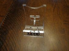 ZIPPO LIGHTER DISPLAY STAND EASEL MINT AND UNUSED LOT OF 15