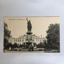 Frankfurt a. M. Schützenbrunnen Deutschland Postkarte Germany Postcard