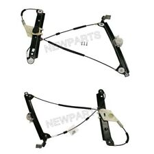 For BMW E82 128i 135is Pair Set of 2 Front Window Regulators w/o Motor OEM