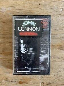 John Lennon ROCK 'N' ROLL cassette