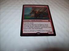Warren Instigator - MTG - Merfolk Vs Goblin Duel Deck - Foil Mythic Rare