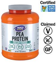 Now Foods Natural Sin Sabor Polvo-proteína de guisante 7 libras, 96 porciones