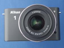 Nikon 1 J1 10.1MP Digital Camera C/W  VR 10-30mm f/3.5-5.6 Lens