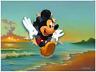 Disney Fine Art Limited Edition Canvas Mickey's Grand Entrance-Jim Warren