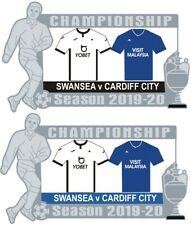Swansea v Cardiff Championship Matchday Pin Badge 2019-20