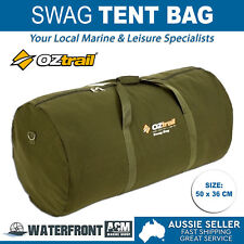OZtrail Biker Swag Carry Bag Single Canvas Outdoor Camping Travel Tent Duffle