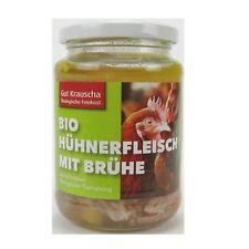 (21,22 EUR/kg) Gut Krauscha Hühnerfleisch mit Brühe bio 320 g