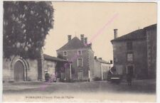 CPA 86700 ROMAGNE Place de l'Eglise