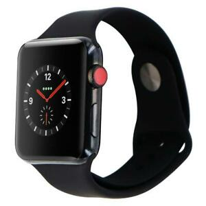 NEW Apple Watch 3 - 44MM SPACE GRAY - STAINLESS STEEL - CELLULAR WIFI - UNLOCKED