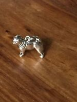 Beaucoup Designs Silver Chihuahua Dog Charm Made In USA