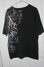 Black Large Vans Off The Wall T-Shirt Skateboard Short Sleeve 100% Cotton L