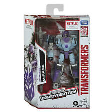HASBRO TRANSFORMERS WAR FOR CYBERTRON NETFLIX MIRAGE ACTION FIGURE IN HAND U.S.