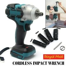 "1/2""18V Electric Cordless Drill Brushless Impact Wrench for MAKITA DTW285Z +Bit"