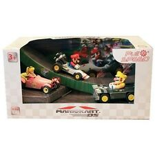 New Mario Kart DS Pull & Speed Pull Back Racer 3-Pack Mario B-Dasher, Wario Brut