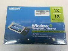 Linksys WiFi-G NoteBook Adapter WPC54G New in box.