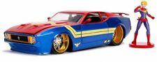 JADA 31102 31118 31193 Film model cars + figure Cadillac or Pontiac Mustang 1:24