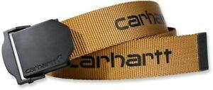 Carhartt Gürtel Webbing Belt Brown