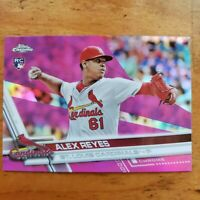 2017 Topps Chrome Pink Refractor Alex Reyes Rookie Card