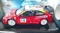 1:18 SOLIDO MODELLO AUTO CITROEN XSARA T4 WRC 2001 #14 CHIARONI ART 9021