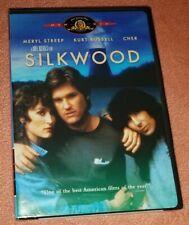 NEW Factory-Sealed SILKWOOD Widescreen DVD Meryl Streep CHER Kurt Russell